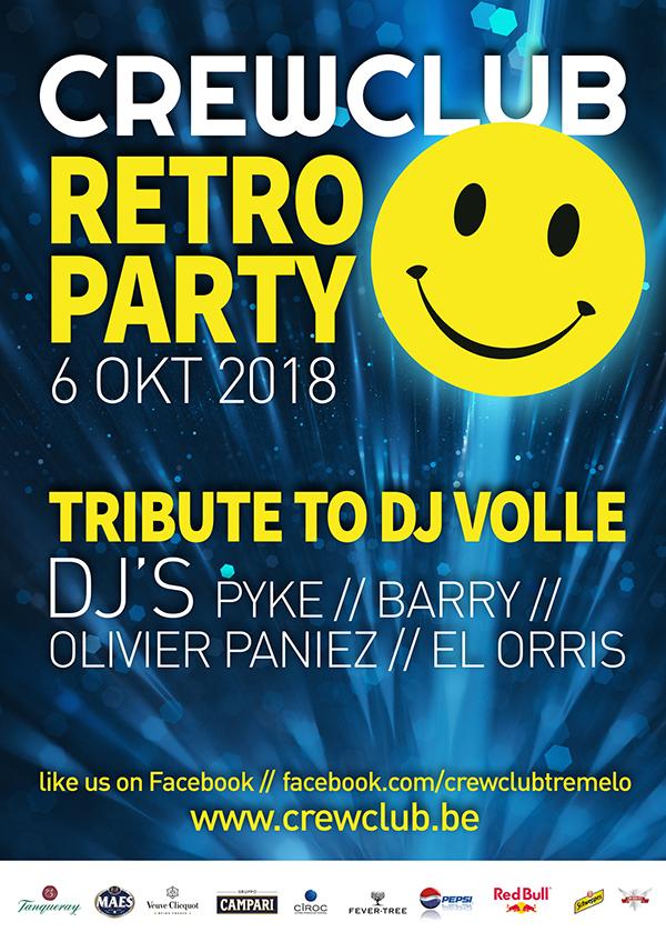 Affiche Retro Party