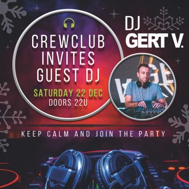 22/12: Crew Club invites guest DJ!