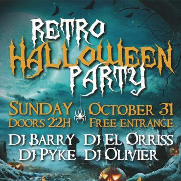 31/10/2021 Retro Halloween Party